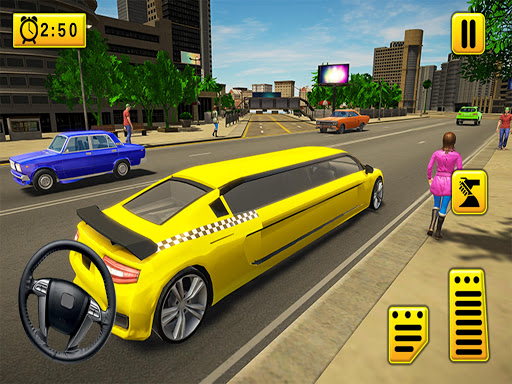 Limousine Taxi 2020: Luxury Car Driving Simulator apkmartins screenshots 1