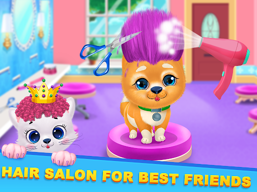 Kitty & Puppy Best Friends Pet Vet Care  screenshots 3