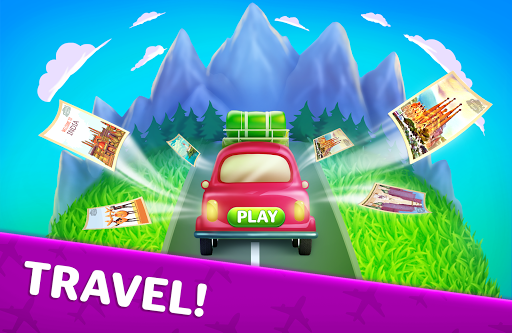 Traveling Blast: Match & Crash Blocks with Friends  screenshots 8