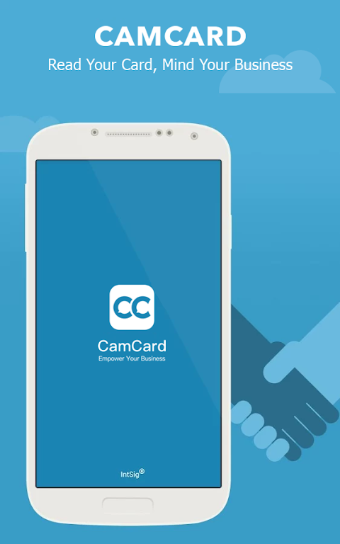 CamCard - Business Card Reader  poster 0