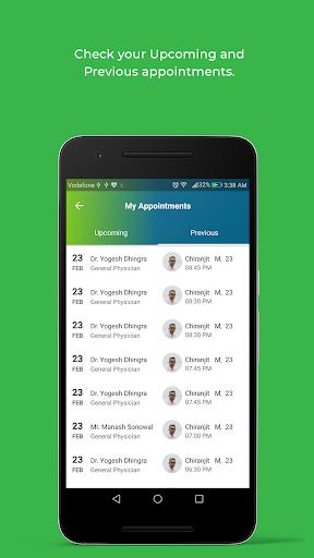 DocOnline - Online Doctor Consultation App modavailable screenshots 3