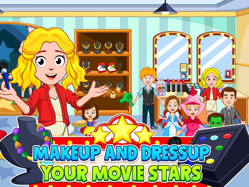 My Town : Cinema & Movie Star - Kids Movie Night 1.10 screenshots 16