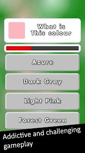 Colour Name Quiz Advance