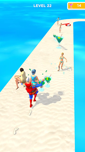 Beach Party Run Apkfinish screenshots 8