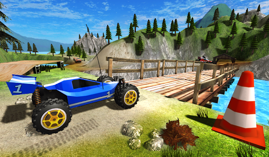 Toy Truck Rally Driver 1 APK + Mod (Unlimited money) for Android
