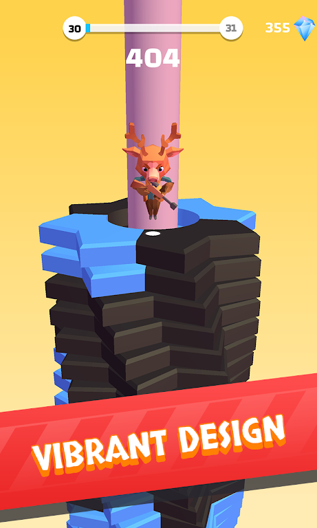 Helix Stack Jump: Fun & Free Addicting Ball Puzzle poster 11