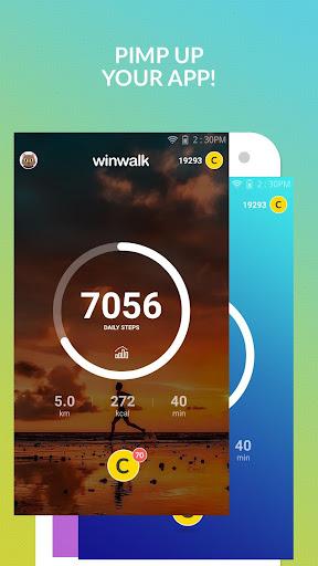 Pedometer winwalk - walk, sweat & win egift cards  Screenshots 5