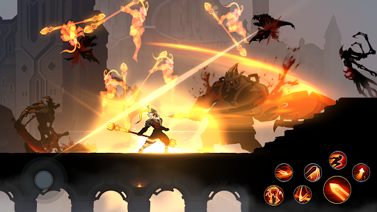 Shadow Knight MOD APK (God Mode) free on Android 2
