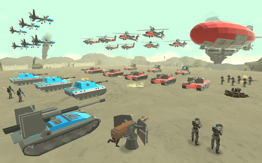 Army Battle Simulator modiapk screenshots 1