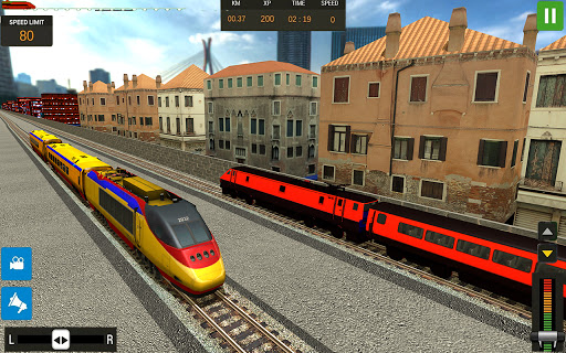 Modern Train Driving Simulator: City Train Games  screenshots 7