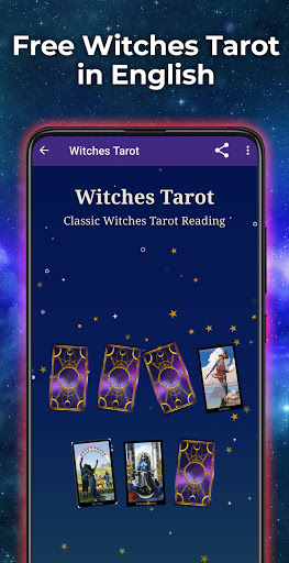 Witches Tarot in English 1.2 screenshots 1