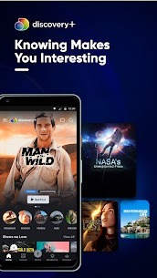 Discovery Plus Mod Apk Premium Account Free Subscription 1