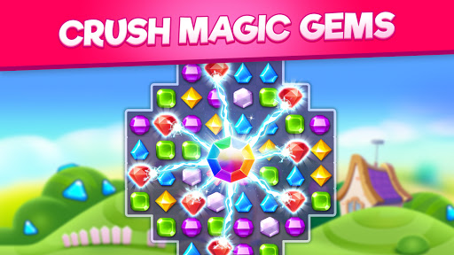 Bling Crush: Free Match 3 Jewel Blast Puzzle Game 1.4.8 screenshots 1