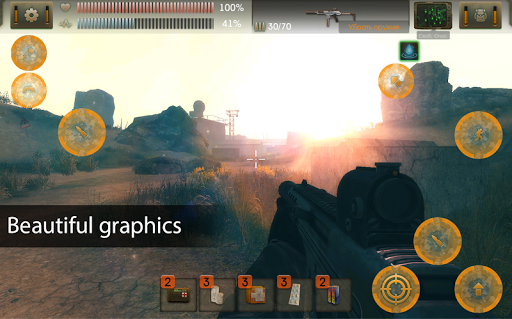 The Sun Origin: Post-apocalyptic action shooter 1.9.9 screenshots 9