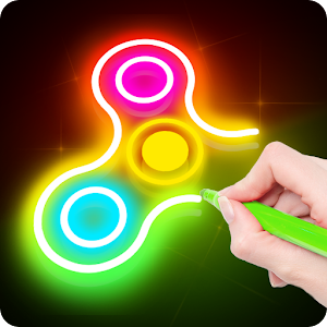 Draw Finger Spinner