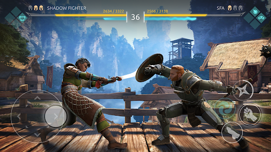 Shadow Fight Arena — PvP Fighting game (MOD APK, High Damage/Freeze Bot) v1.1.10 1