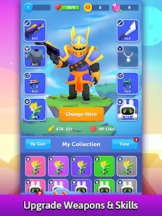 Bullet Knight: Dungeon Crawl Shooting Game 1.2.4 MOD APK [INFINITE DIAMONDS] 3