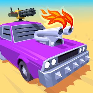 Desert Riders  Car Battle Game