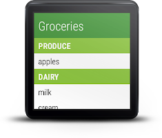 Our Groceries Shopping List