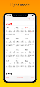 iCalendar MOD APK- Calendar iOS style [Pro Unlocked] 5