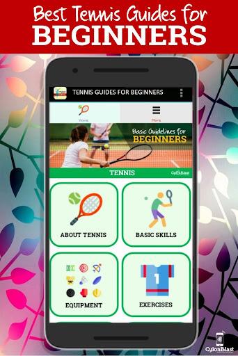 best tennis guides for beginners screenshot 1