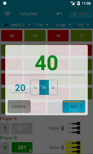 Darts Scorecard 2.60 screenshots 8