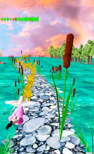 Flying Girl Runner 4 1.3 screenshots 8