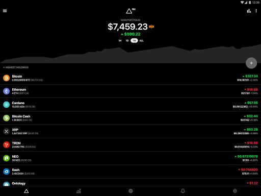 Delta - Bitcoin & Cryptocurrency Portfolio Tracker screenshots 9
