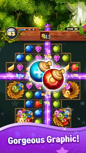 Sweet Fruits POP : Match 3 Puzzle screenshots 19
