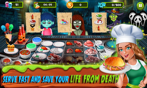 Restaurant Mania : Zombie Kitchen 1.16 screenshots 4
