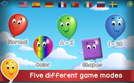 Kids Balloon Pop Game Free ud83cudf88  screenshots 1