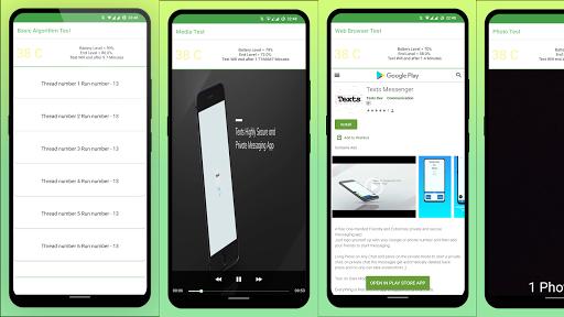 Battery Benchmark and Battery Health  screenshots 2