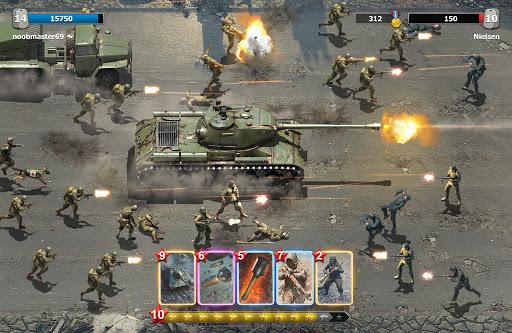 Heroes of War: WW2 Idle RPG 1.8.3 screenshots 4