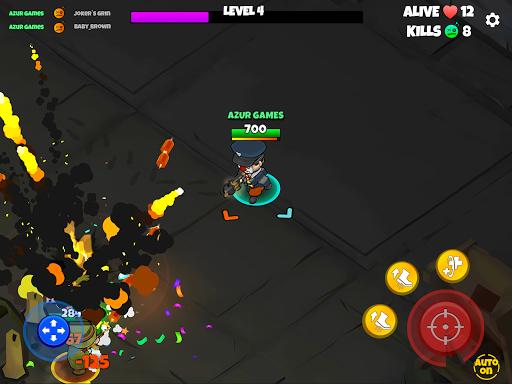Warriors.io - Battle Royale Action  screenshots 21