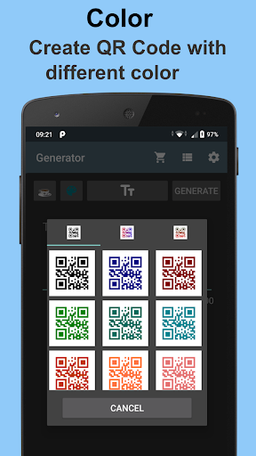QR Code Generator for Android