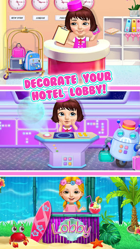 Sweet Baby Girl Hotel Cleanup - Crazy Cleaning Fun  screenshots 8