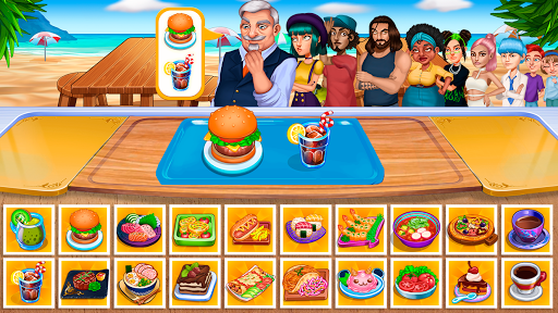 Cooking Fantasy: Be a Chef in a Restaurant Game 1.2.0 screenshots 1