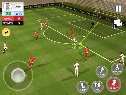 Soccer League Season 2021: Mayhem Football Games  screenshots 6