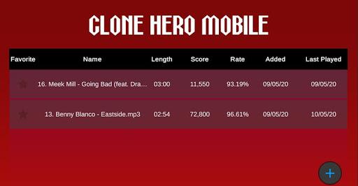 Clone Hero Mobile - MP3 Rhythm Game 1.15.57 Screenshots 2