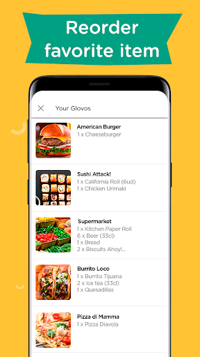 Glovo: Order Anything. Food Delivery and Much More android2mod screenshots 7