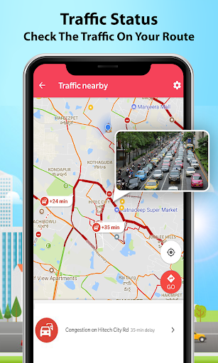 GPS Alarm Route Finder - Map Alarm & Route Planner 1.5 Screenshots 3