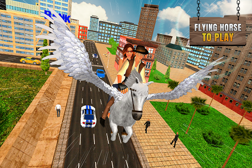 Flying Horse Taxi City Transport: Horse Games 2020 apkdebit screenshots 12