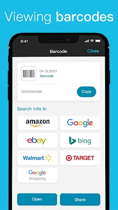 QR Code Reader & Barcode Scanner for FREEのおすすめ画像5