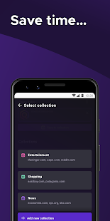 Firefox for Android Beta Screenshot