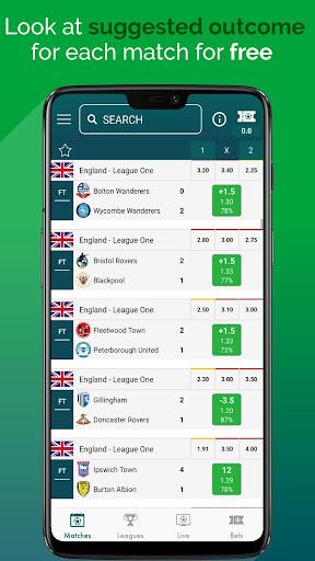 BetMines Free Football Betting Tips & Predictions 2.3 Screenshots 1