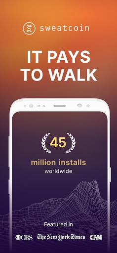 Sweatcoin u2014 Walking step counter & tracker  Screenshots 1