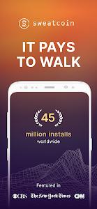 Sweatcoin — Walking step counter & tracker 68.0