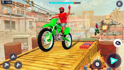 Bike Stunt Racer 3d Bike Racing Games - Bike Games apkslow screenshots 14