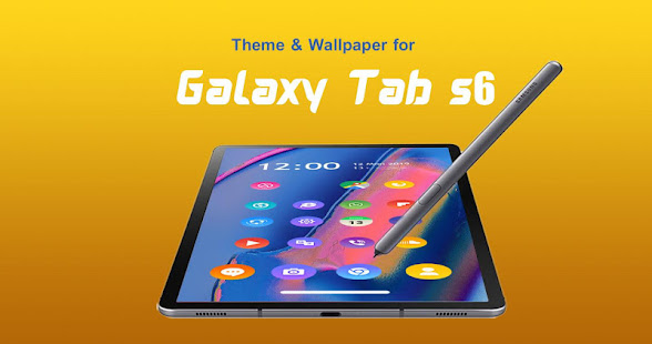 Theme For Samsung Galaxy Tab S6 Galaxy Tab S6
