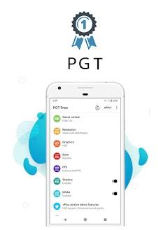 PGT Free : GFX & Optimizerのおすすめ画像1